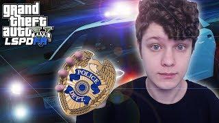 GTA 5 - VIREI UM POLICIAL! MOD LSPDFR