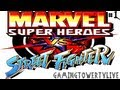 Marvel Super Heroes Vs Street Fighter - PlayStation