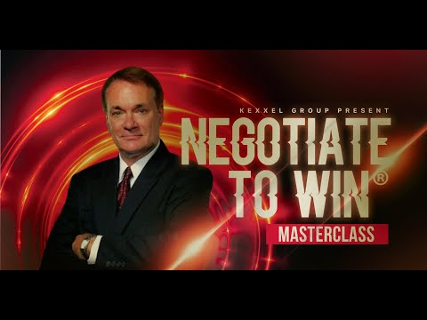 Negotiate to Win | Best Negotiation Training | Kexxel Group - YouTube