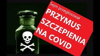MKS. WAZNE Czwartek, 17.00. Sejm zaraz uchwali ustawę o przymusowym szczepieniu Polaków.