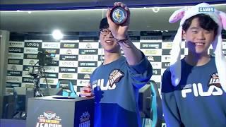 8강 A조 3경기 Flame vs SAVIORS [19 01 19] 2019 카트라이더 리그 시즌1