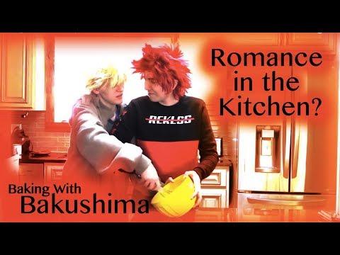 Baking with Bakushima   Pancakes   Episode 1   KiriBaku Skit