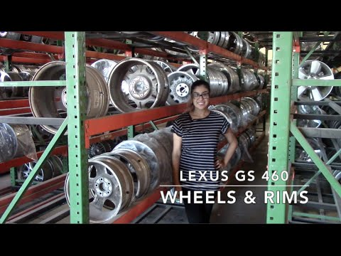 Factory Original Lexus GS 460 Wheels & Lexus GS 460 Rims – OriginalWheels.com