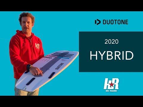 Duotone Hybrid 2020 - The Ultimate Surf, Foil, Fun & Travel Board