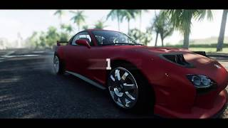 MAZDA RX7 The Crew THE BIG D HIGHWAY DRIVE SOUND