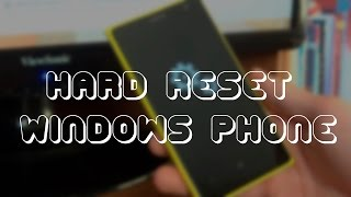 Как сделать сброс настроек на Windows Phone 8.1 | 10 (Nokia Lumia)