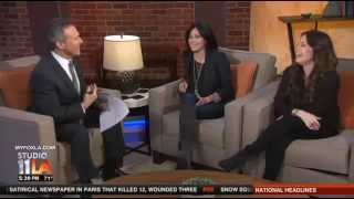 Shannen on Studio 11 L.A - Promotion Off the Map - 08.01.2015