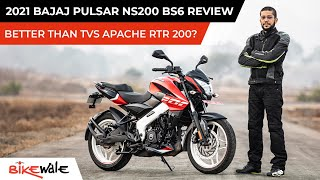 New Bajaj Pulsar NS200 BS6 Review | Is It Better Than TVS Apache RTR 200 4V |BikeWale