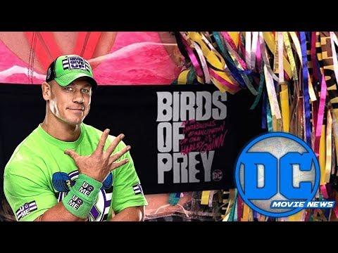 DC Movie News: Birds of Prey Wraps Filming & John Cena Heads to The Suicide Squad?