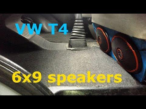 VW T4 easy speaker upgrade