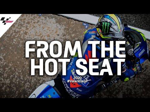 シートポジションから見る大迫力の決勝レース映像 MotoGP バレンシアGP