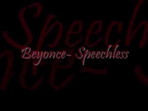 Beyonce-Speechless[With lyrics]