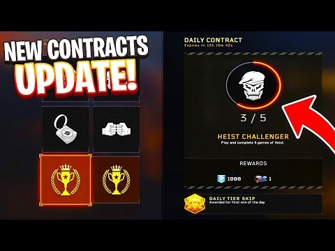 NEW BLACK OPS 4 CONTRACTS UPDATE! NEW FREE DLC WEAPONS POSSIBLY + MORE! - COD BO4 1.19 PATCH LIVE