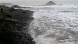 preview picture of video 'Winter Storm in Wellington - New Zealand'