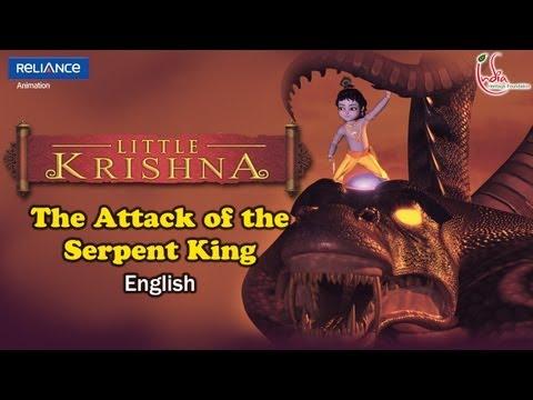 Little Krishna English - Episode 1 Attack Of Serpent King