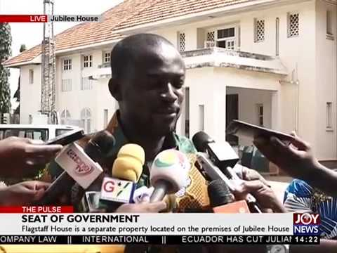 Jubilee House has been gazetted - The Pulse on JoyNews (29-3-18)