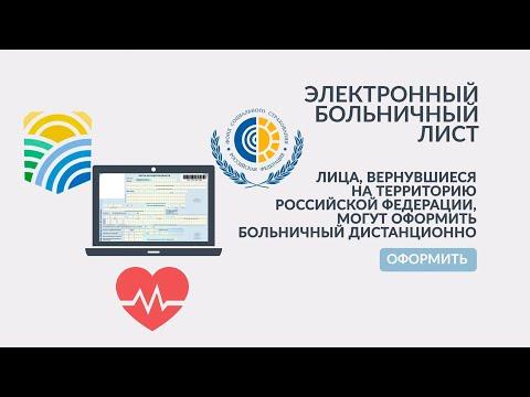Россияне, вернувшиеся из заграничных поездок, могут оформить больничный онлайн. Пошаговая инструкция - в этом видео.