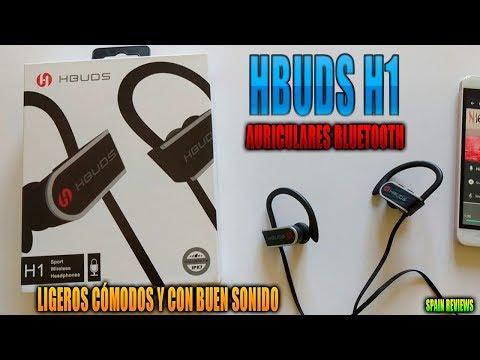 Hbuds H1 auriculares bluetooth ligeros cómodos y con buen sonido