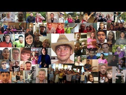 С Днем Рождения Олег!  Видео поздравление от друзей и родственников!