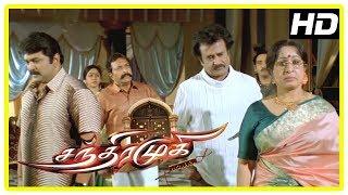 Chandramukhi | Nassar hits Rajini | Rajini reveals the twist about Jyothika | Prabhu gets Shocked