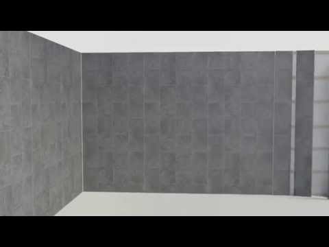 How to fit bathroom cladding
