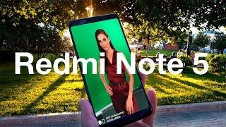 Смартфон Xiaomi Redmi Note 5 4/64GB Black (Global) от компании F-Mart - видео 2
