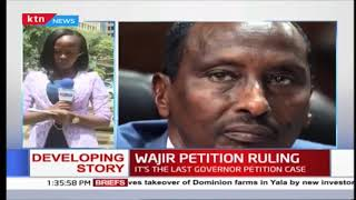 Wajir governor Mohammed Abdi  to know his fate as supreme court sets to deliver the rulings today