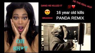 16 YEAR OLD KILLS PANDA REMIX!!! REACTION