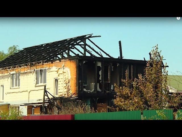 Житель Ангарска пострадал при попытке потушить свой дом