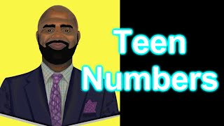 Numbers in the Teens (The one comes first) Rap song for kids about teen numbers)