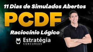 Simulados PCDF: Raciocínio Lógico - Correção