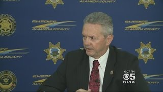 Alameda County Sheriff Calls Homeland Security