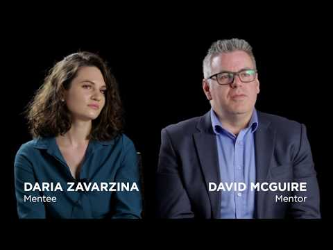 David and Daria share their mentorship experience.
