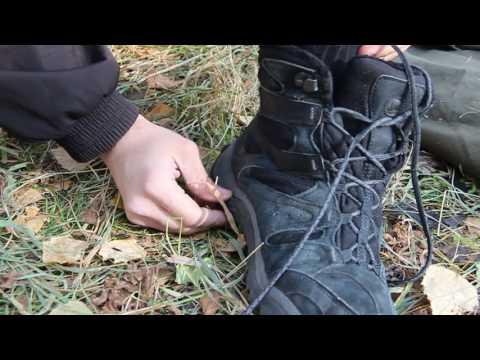 Как надёжно завязать шнурки