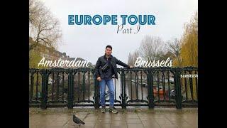 Brussels, Amsterdam