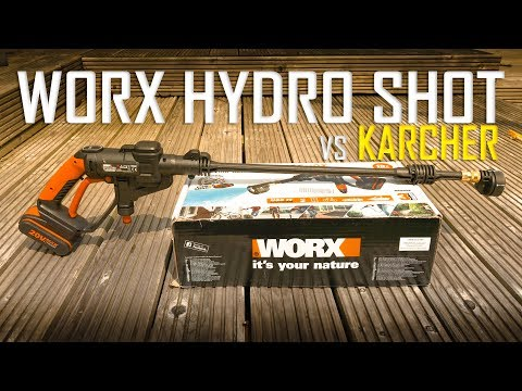 Worxs HydroShot Cordless Pressure Washer vs Karcher – Real Review