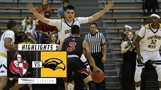 William Carey vs. Southern Mississippi Basketball Highlights (2018-19) | Stadium