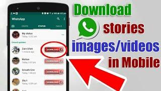 Cara Download Status WhatsApp Tanpa Web dan Aplikasi
