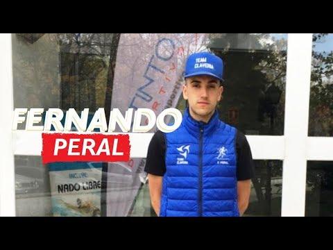 Prueba de esfuerzo de Fernando Peral y confirmación como integrante del Team Clavería para la temporada 2019