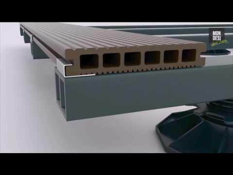 Mondesi - WPC Terrassendielen Verlegevideo -