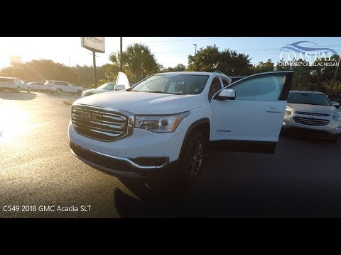 Certified Pre-Owned 2018 GMC Acadia FWD 4dr SLT w/SLT-1