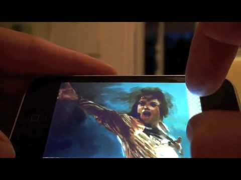 Artists Finger Painting on The iPhone | AMAZING