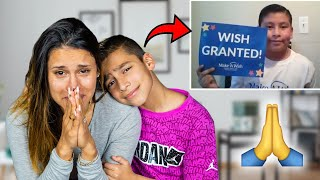 We CHANGED HIS LIFE FOREVER.. (WISH COME TRUE) | The Royalty Family