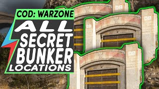 Warzone ALL SECRET BUNKER LOCATIONS - Call of Duty Warzone Red Access Card