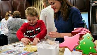 Baking Cookies & Preparing for Christmas
