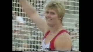 Ilke Wyludda 67.08m Discus Helsinki 1994
