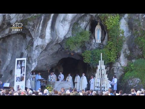 Messe de 10h à Lourdes du 20 septembre 2021