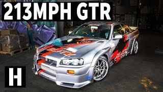 213mph Blitz R34 Skyline GTR: The Infamous Autobahn Legend!