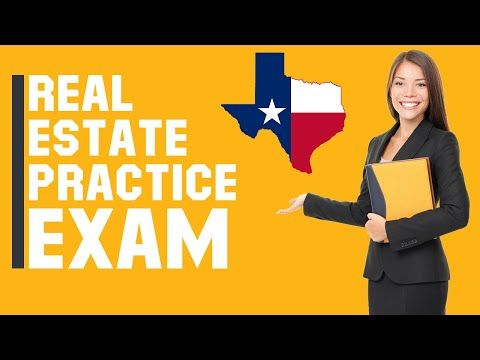 Texas Real Estate Exam 2020 (60 Questions with Explained ...