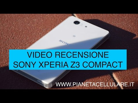 Foto Sony Xperia Z3 Compact, video recensione completa